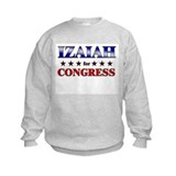 IZAIAH for congress Sweatshirt