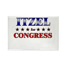 ITZEL for congress Rectangle Magnet (10 pack)