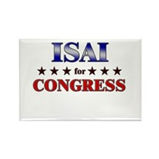 ISAI for congress Rectangle Magnet