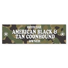 AMERICAN BLACK AND TAN COONHOUND Bumper Bumper Sticker