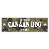 CANAAN DOG Bumper Bumper Stickers