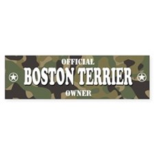 BOSTON TERRIER Bumper Bumper Sticker