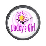 Daddy's Girl Wall Clock