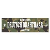 DEUTSCH DRAHTHAAR Bumper Bumper Sticker
