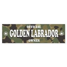 GOLDEN LABRADOR Bumper Bumper Sticker
