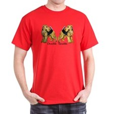 Airedale Terrier Trouble T-Shirt