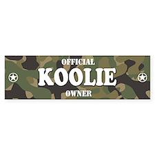 KOOLIE Bumper Bumper Sticker