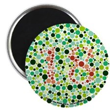 "Color Blind 2.25"" Magnet (10 pack)"