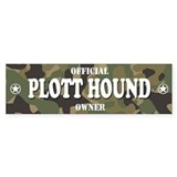 PLOTT HOUND Bumper Car Sticker