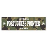 PORTUGUESE POINTER Bumper Car Sticker