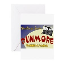 Greetings From Dunmore Greeting Cards (Pk of 10)