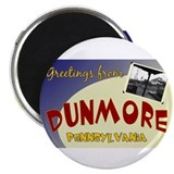 "Greetings From Dunmore 2.25"" Magnet (10 pack)"