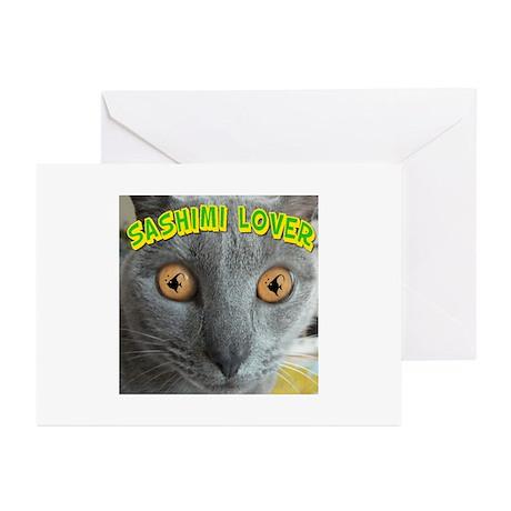 Sashimi Lover #2 Greeting Cards (Pk of 10)