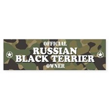 RUSSIAN BLACK TERRIER Bumper Bumper Sticker