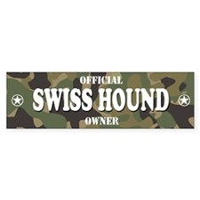 SWISS HOUND Bumper Bumper Sticker