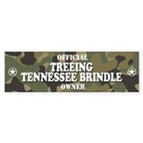 TREEING TENNESSEE BRINDLE Bumper Bumper Sticker