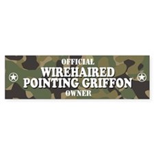 WIREHAIRED POINTING GRIFFON Bumper Bumper Sticker