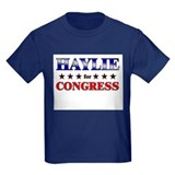HAYLIE for congress T