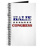 HALIE for congress Journal