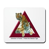 Cute Protect tigers Mousepad