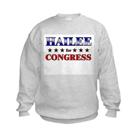 HAILEE for congress Kids Sweatshirt