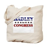 HADLEY for congress Tote Bag