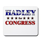 HADLEY for congress Mousepad