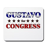 GUSTAVO for congress Mousepad