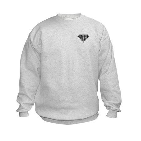 SuperPacker(metal) Kids Sweatshirt