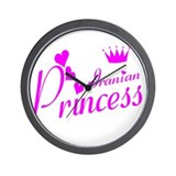 Iranian Princess Wall Clock