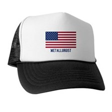 Ameircan Metallurgist Trucker Hat