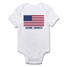 Ameircan Marine Engineer Onesie