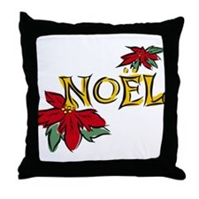 Unique Noel Throw Pillow