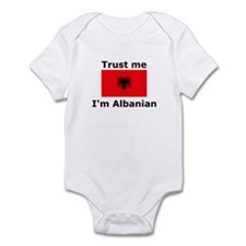 Trust me-I'm Albanian Infant Bodysuit