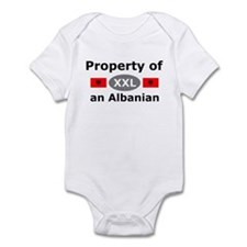 Property of an Albanian Infant Bodysuit