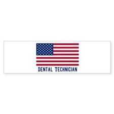 Ameircan Dental Technician Bumper Bumper Sticker