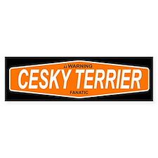 CESKY TERRIER Bumper Bumper Sticker