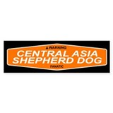 3-CENTRAL ASIA SHEPHERD DOG Bumper Bumper Sticker
