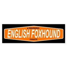 ENGLISH FOXHOUND Bumper Bumper Sticker