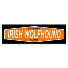 IRISH WOLFHOUND Bumper Bumper Sticker
