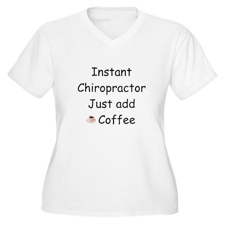 Chiropractor Women's Plus Size V-Neck T-Shirt