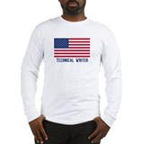 Ameircan Technical Writer Long Sleeve T-Shirt