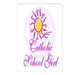 Catholic School Girl Postcards (Package of 8)