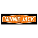 MINNIE JACK Bumper Bumper Sticker