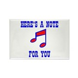 A NOTE FOR YOU Rectangle Magnet (10 pack)