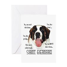 Saint(rough)FAQ Greeting Card
