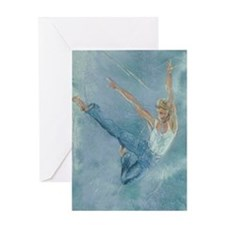 Male Dancer Greeting Card
