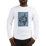 Mola mola the Ocean Sunfish Long Sleeve T-Shirt