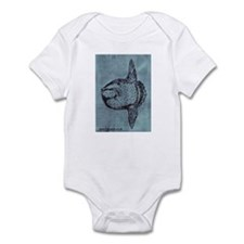 Mola mola the Ocean Sunfish Infant Bodysuit