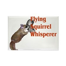 flying squirel whisperer Rectangle Magnet